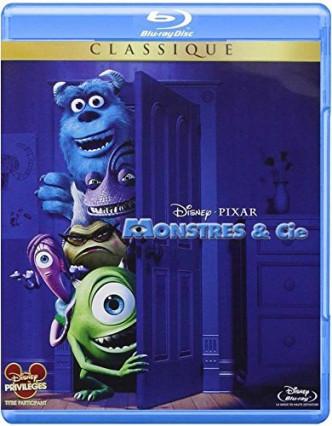 Le Blu-ray de Monstres et cie