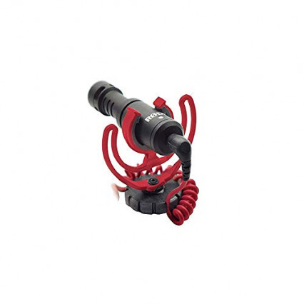 Un microphone pour appareil photo