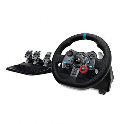 Le volant de course en cuir Logitech G29 Driving Force