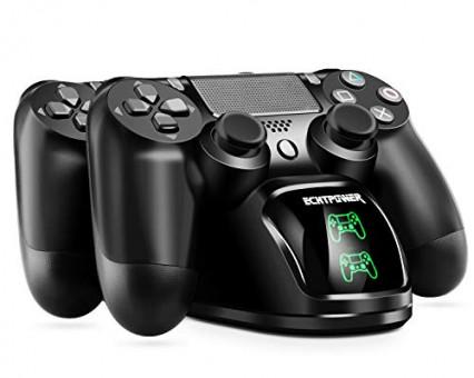 Le support de recharge pour manettes PS4