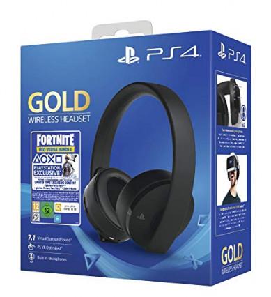 Le micro-casque sans fil édition Gold de Sony