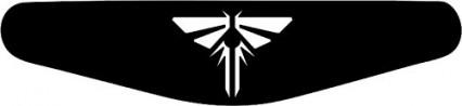 Un sticker pour manette, ici à l'effigie de The Last of Us