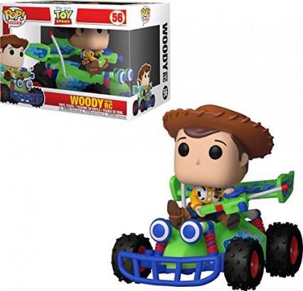 Le Funko de Woody sur Karting
