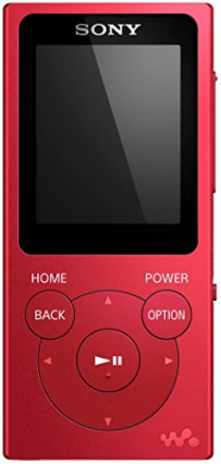 Le Walkman Sony NWE394R.CEW