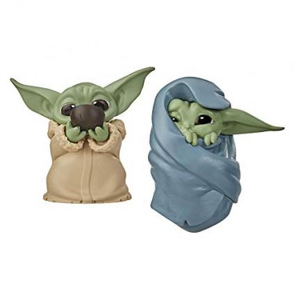 Deux figurines de l'Enfant