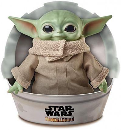 Une peluche Baby Yoda de 28 cm