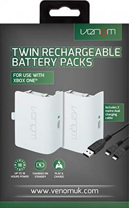 Un lot de deux batteries rechargeables pour manette