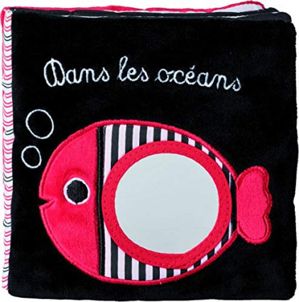 Un livre en tissu, Dans Les Océans de Francesca Ferri et Catherine Hellier
