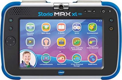 Une tablette tactile Storio Max XL 2.0 de VTech