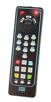 Une télécommande bilingue Infini Fun
