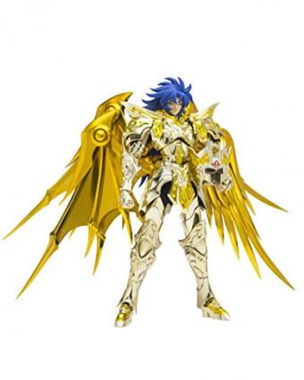 Une figurine de Saga, le Chevalier d'Or des Gémeaux