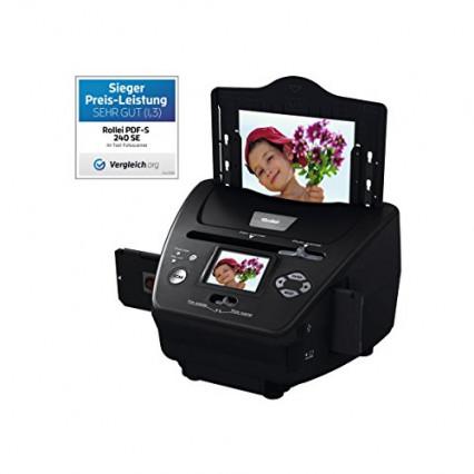 Le scanner de diapositives et son logiciel de retouche Rollei