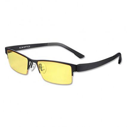 Une paire de lunettes anti lumière bleue