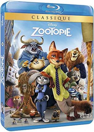 Zootopie en Blu-Ray