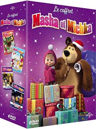Le coffret Masha et Michka