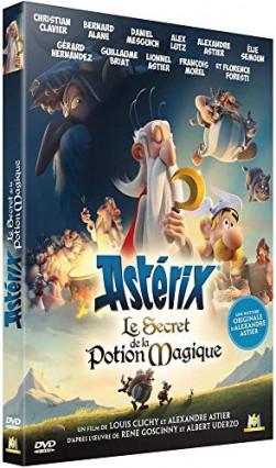 Astérix et le secret de la potion magique en DVD