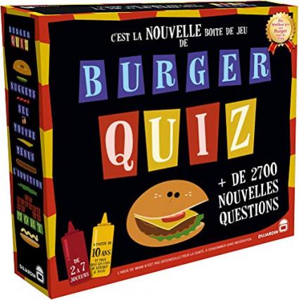 Burger Quiz, le jeu d'ambiance pour faire comme à la télé