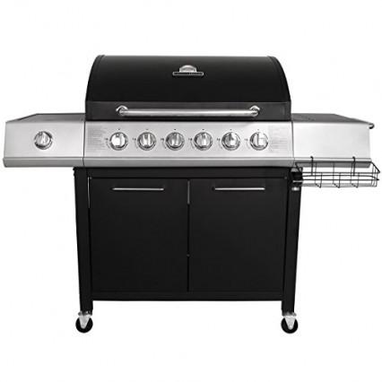 Le barbecue à gaz de milieu haut de gamme