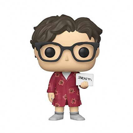 Leonard Hofstadter en peignoir, The Big Bang Theory