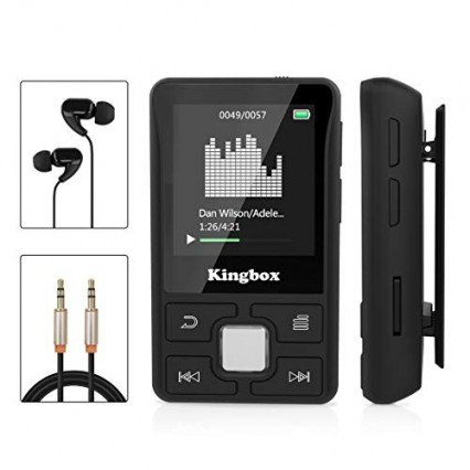 Le lecteur MP3 de sport par Kingbox