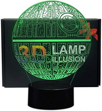 Une lampe 3D Star Wars