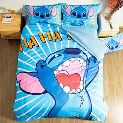 Une parure de lit pour enfant Stitch