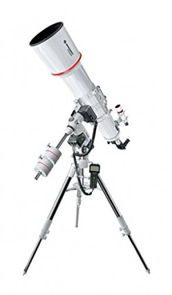 Le télescope Bresser Messier AR-152L/1200 EXOS-2 EQ-5 Goto Blanc