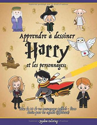 Un livre pour apprendre à dessiner les personnages d'Harry Potter