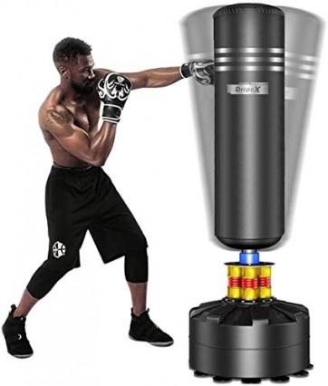 Un sac de frappe pour pratiquer la boxe