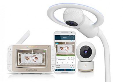 Le babyphone sous forme de mobile de lit Motorola Halo+