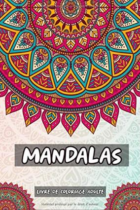 Le classique livre de coloriage à mandalas