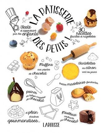 Le livre de pâtisserie pour faire participer les petits