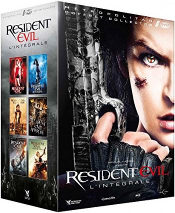 L'intégrale des films en DVD Resident Evil avec Milla Jovovich