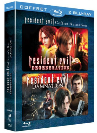 Deux films d'animation : Resident Evil : Degeneration et Resident Evil : Damnation
