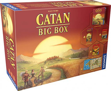 Catan Big Box, pour faire un peu de stratégie