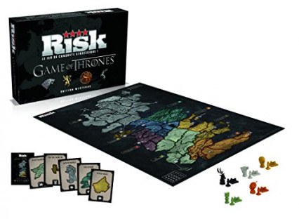 Le jeu de plateau Risk, version Game of Thrones
