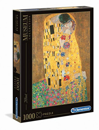 Un grand puzzle, comme Le Baiser, de Klimt, en 1000 pièces