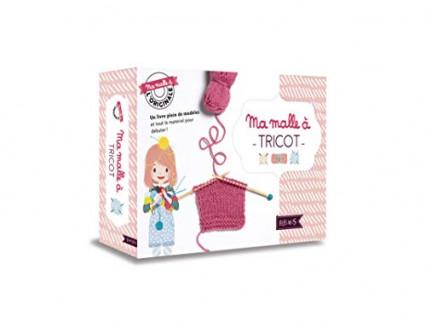 Un kit pour apprendre à tricoter