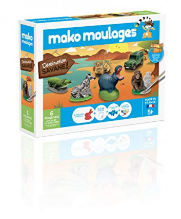 Un kit de Mako Moulages pour mêler plâtre et peinture