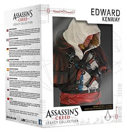 Le buste d'Edward Kenway, le héros de Black Flag (Assassin's Creed IV)