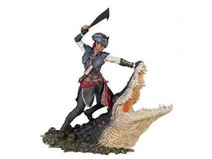 Une figurine d'Aveline, d'Assassin's Creed Liberation