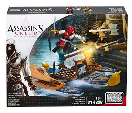 Le set Mega Blocks Assassin's Creed Le Navire de Guerre