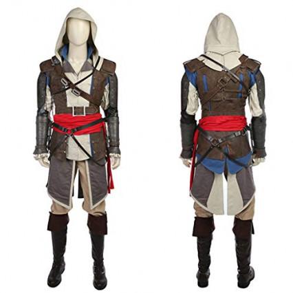 Un cosplay complet d'Edward Kenway, d'Assassin's Creed IV Black Flag