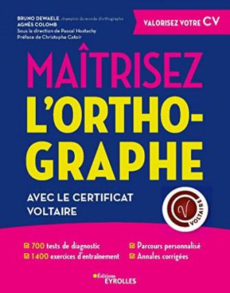 Un cahier pour réviser votre niveau d'orthographe