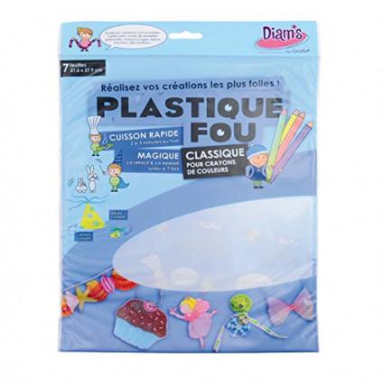 Le plastique fou, pour rétrécir les dessins