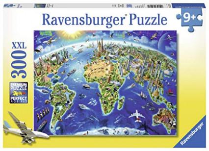 Un puzzle XXL de 300 pièces pour recréer le monde