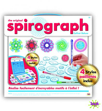 Les dessins géométriques de Spirograph