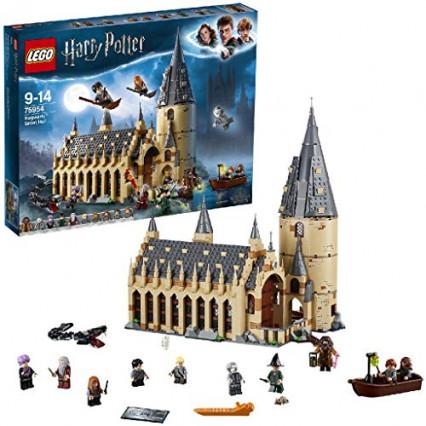 Un set LEGO Harry Potter et le château de Poudlard