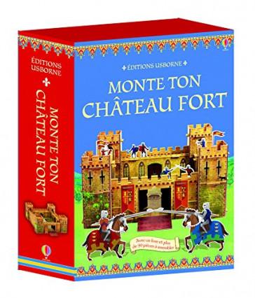 Monte ton château fort, aux éditions Usbone