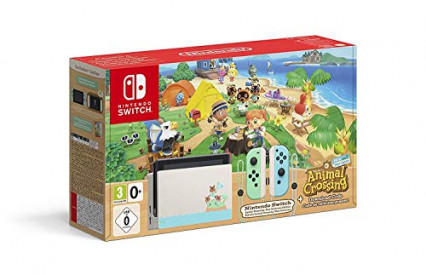 La console collector Switch aux couleurs d'Animal Crossing